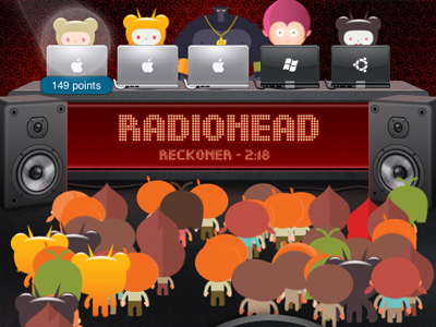 Radio Head is poppin' off